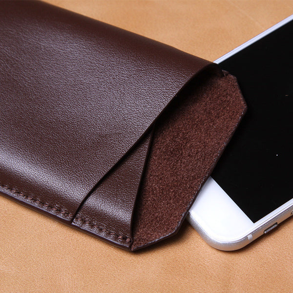 iPhone 6/6 Plus, 6S/6S Plus Ultra-thin Luxury Leather Phone Pouch