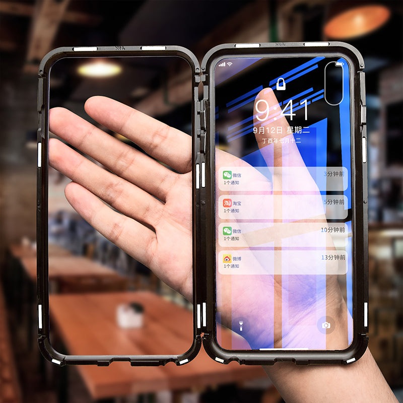 check out 172c1 0cfc0 Official Apple Auto-Fit Magnetic Adsorption Case for iPhone XS Max / XS /  XR - 5 Days Free Shipping USA
