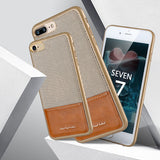 New Original iPhone 7, 7 Plus PC + Leather Phone Cases