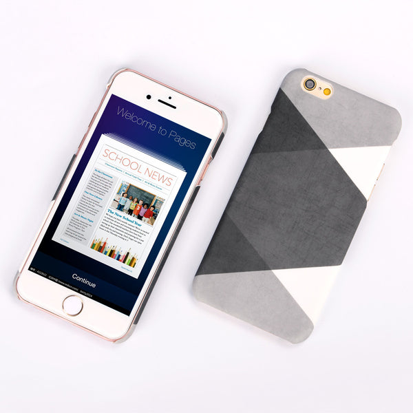 Stylish Fashion Mobile Phone Case For iPhone 5 5s 6 6S plus Back Cover