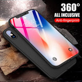 Apple iPhone XS MAX / XR / XS Full Cover Case 360 Protection - 5 Days Free Shipping USA