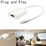 Cable Adapter Cast Phone Audio Video to HDMI HD TV Projector for iPhone
