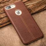 Apple iPhone 7, 7 Plus Genuine Leather Back Luxury Cover Case