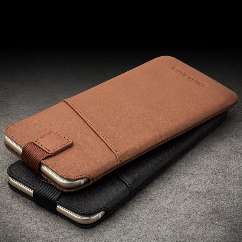 on sale 27a6c 1f962 New Original iPhone 6, 6s Luxury Leather Pouch with Card Slot