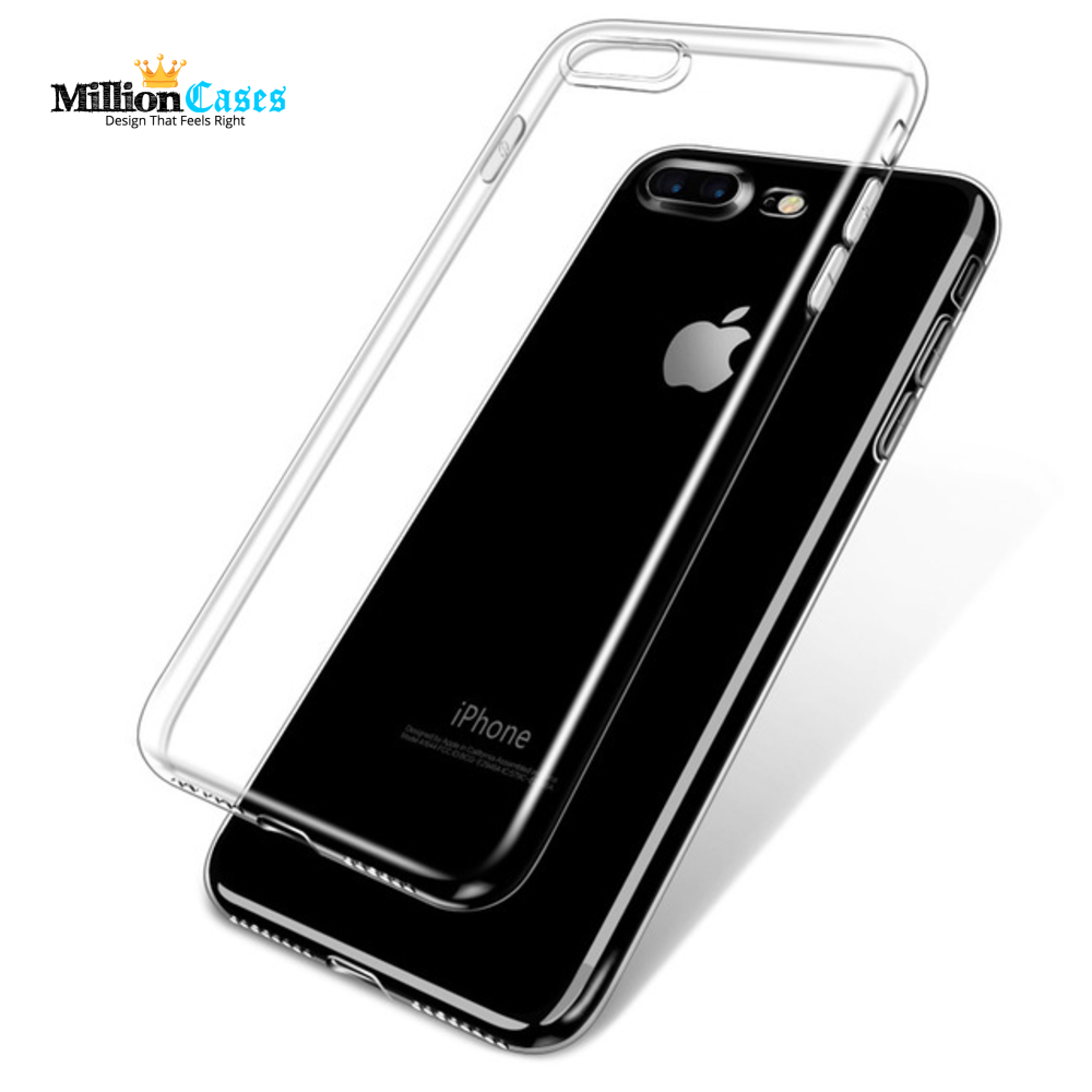 iPhone 7 7 Plus Ultra Thin HD Clear Crystal Soft TPU Phone Case
