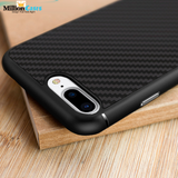 Original iPhone 7, 7 Plus Synthetic Hard Carbon Plastic Fiber Cover Case