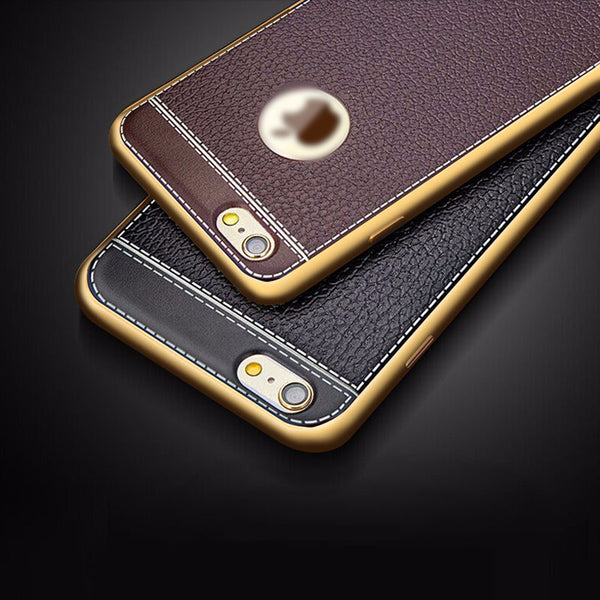 iPhone 7, 7 Plus Retro Leather luxury back Cover Cases