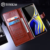 Luxury Leather Wallet Case For Samsung Galaxy Note 9