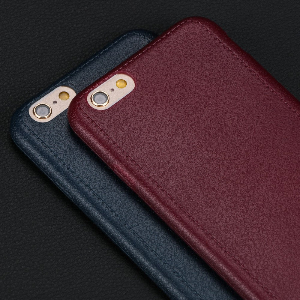 Luxury Super Thin Comfort Pattern Texture Soft TPU Back Cover