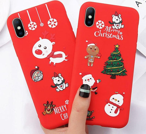 Christmas Tree Phone Case For iPhone - 5 DAY FREE SHIPPING USA
