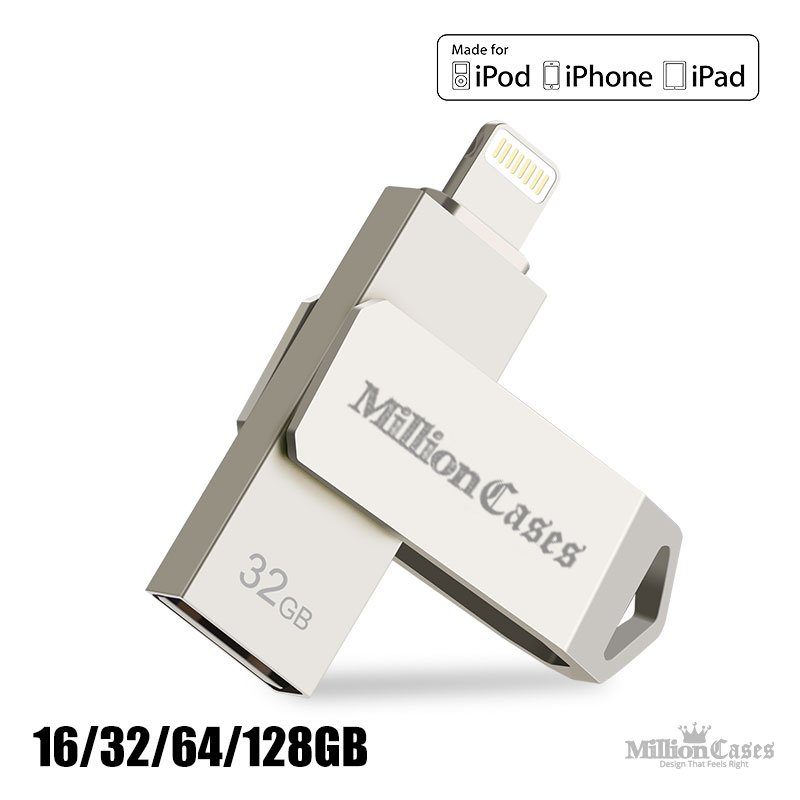 USB Flash Drive for Apple iPhone or iPad [Best Selling]