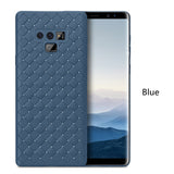 Luxury Grid Weave Hollow Ultra Thin Case for Galaxy Note 9