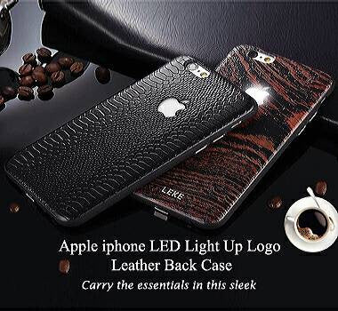 Apple iphone 6/6 Plus, 6S/6S , 7/7 Plus LED Light Up Logo Back Case
