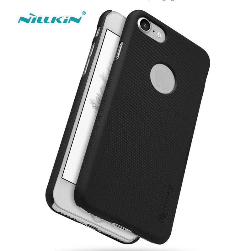 best service 9aa48 342cb iPhone 7, iPhone 7 Plus NILLKIN Super Frosted Shield Plastic Hard Back Cover