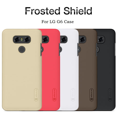 Frosted PC Plastic Hard Back Case for LG G6