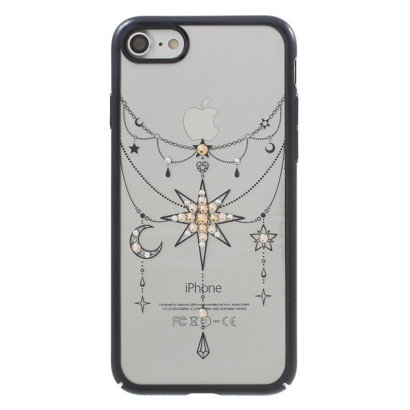 iPhone 7 Authorised Swarovski Diamond Plating Hard Cover