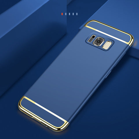 Samsung Galaxy S8, S8 Plus Ultra Thin Electroplated Gold Plating Case