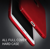 New RED iPhone 7, 7 Plus Ultra thin Hard Plastic Cover