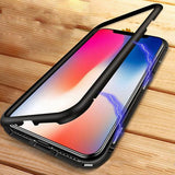 Auto-Fit Magnetic Glass Case for iPhone 7, 7 Plus, 8, 8 Plus
