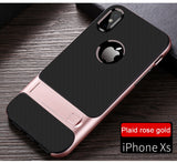 Official iPhone Anti-knock PC Stand Case For XS Max / XS / XR - 5 Days Free Shipping USA
