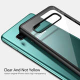 Transparent Hybrid Shockproof Bumper Case For Galaxy S10/ S10 Plus