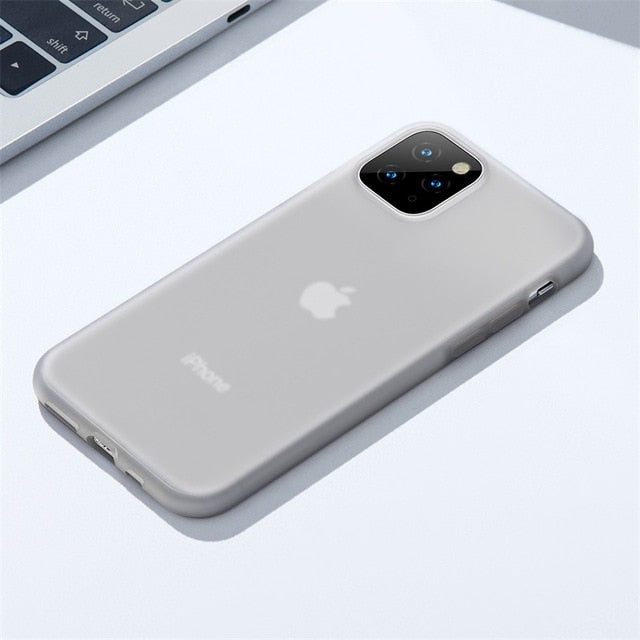 Baseus Semi Transparent Silicone Case For iPhone 11 Series