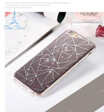 Newest iPhone 7 Fashion Colorful Luxury Vintage Lozenge Pattern Case