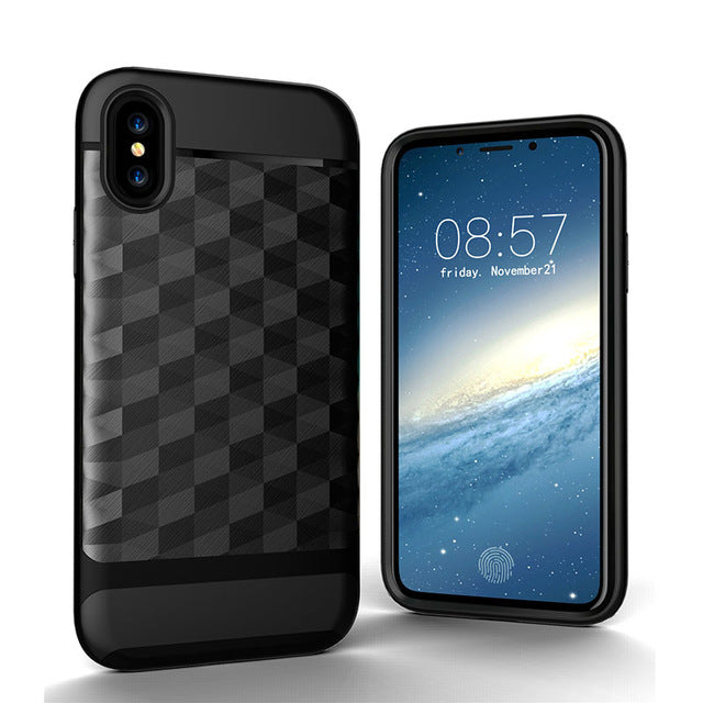 Apple iPhone X Case Shock Proof Protective Armor TPU & PC Back Case