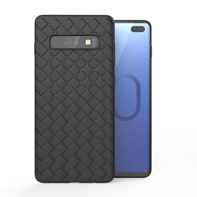 Ultra Thin Grid Weaving Case for Galaxy S10/ S10 Plus