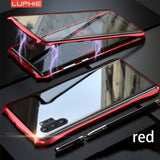 Luphie Double Glass Magnetic Case for Galaxy Note 10 / Note 10 Plus