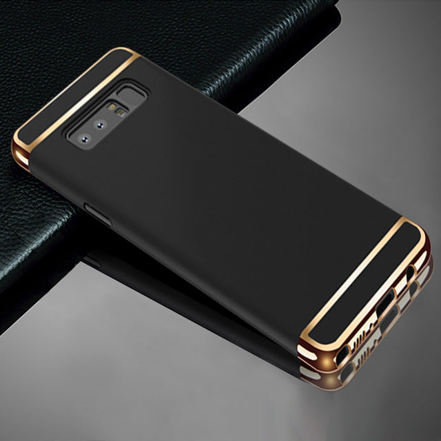 Luxury Armor Hard Plastic Case for Samsung Galaxy Note 8