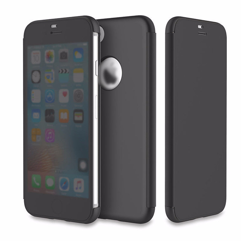 iPhone 7, 7 Plus Invisible Window Touchable Flip Case