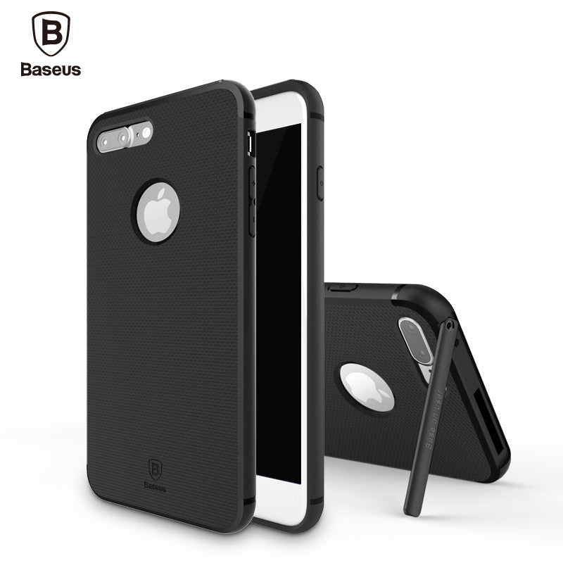Apple iPhone 7, 7 Plus Kickstand Holder Hard Back Case