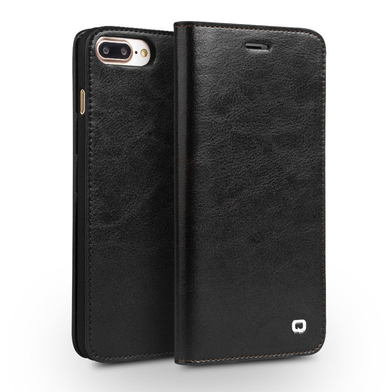 iPhone 7/7 Plus Original Handmade Genuine Leather Wallet Case