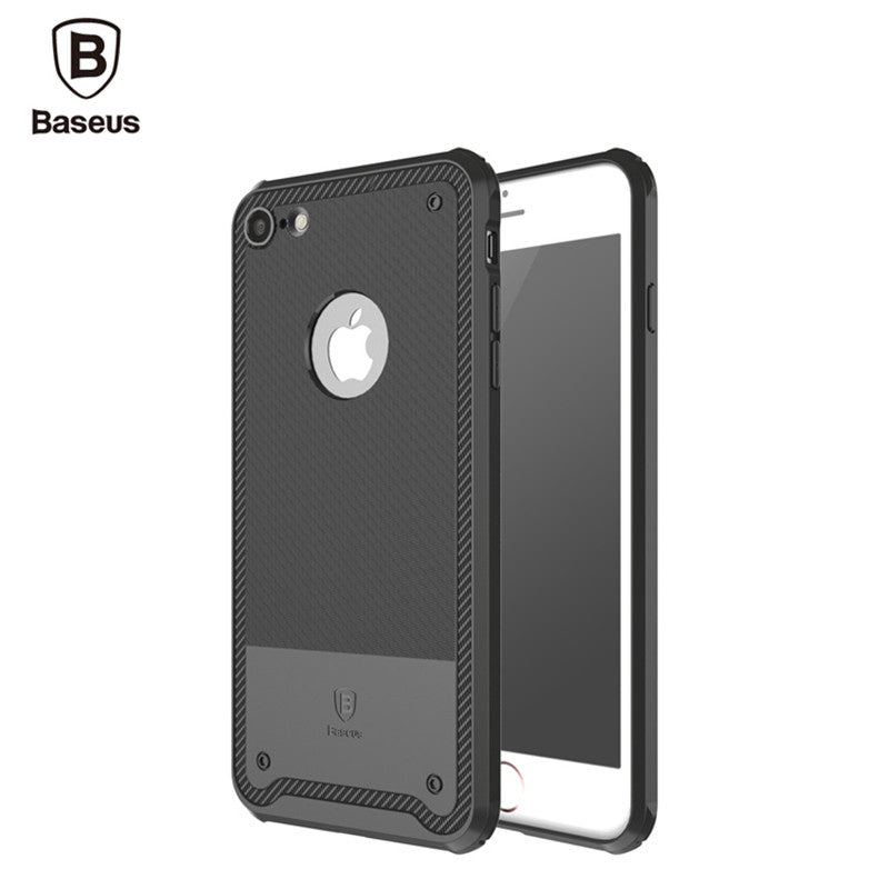 check out ab8a8 6cd38 Hybrid Tough Armor Slim Shockproof Protective Case for Apple iPhone 7 &  iPhone 7 Plus