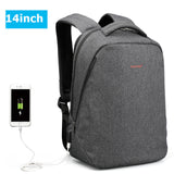 Anti-Theft External USB charger Backpack Bag
