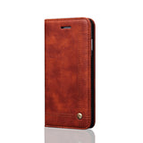 Apple iPhone 7, 7 Plus Flip Leather Case With Card Slots