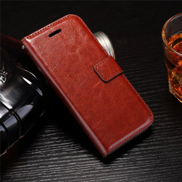 Cover Flip Wallet Leather Case for iPhone 7