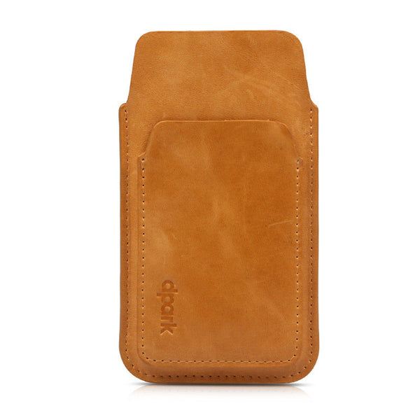 New iPhone 6/6 Plus Genuine Leather Phone Pouch Cases with Front Card Slot