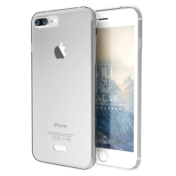 Luxury Silicone iPhone 7 /7 Plus Ultra Slim Soft TPU Protective Case