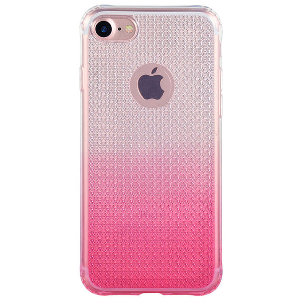 iPhone 7, 7 Plus Luxury Diamond Shining Soft Shockproof Gradient Color Transparent TPU Case