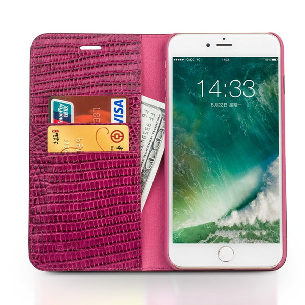 Girlish iPhone 7/7 Plus Genuine Leather Luxury Cover