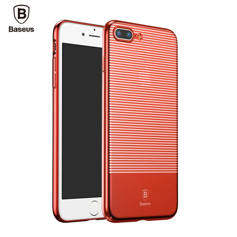 iPhone 7, 7 Plus Fashion Stripes Pattern PC Protective Shield Hard Cover