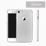 iPhone 7 & 7 Plus Metal Aluminium Matte Ultra Thin Back Cover