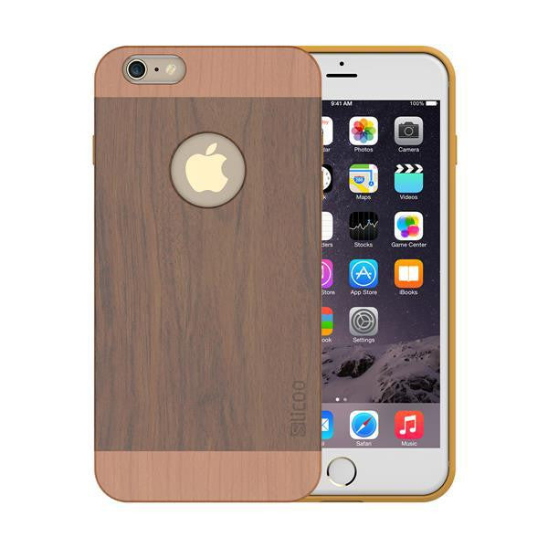 Slicoo Nature Series iPhone 6 Plus Bamboo Wood Slim Covering Case