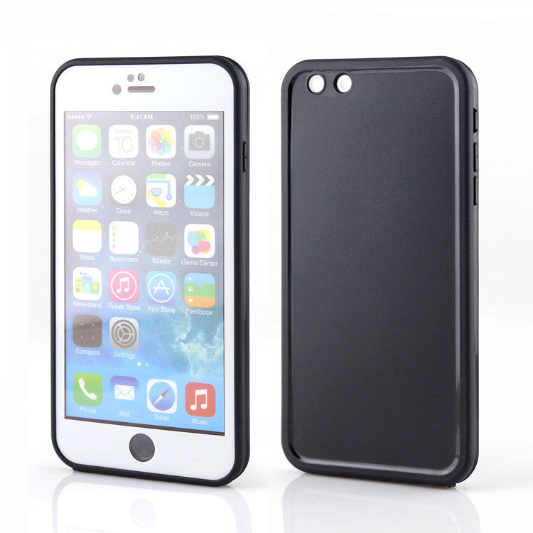 Apple iPhone 6/6S Waterproof Soft Silicon Back Cover Cases