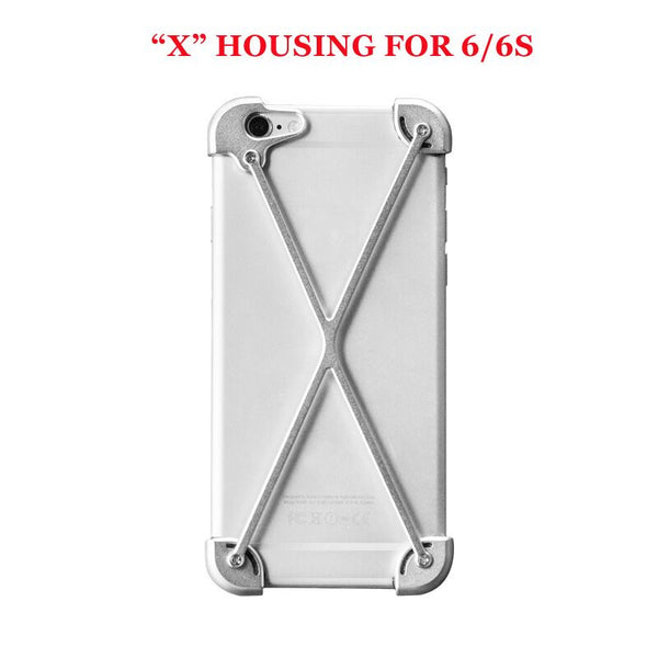 Apple iPhone 6, 6S, 6/6S Plus Aluminium Metal Bumper Frame