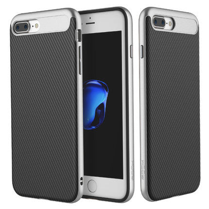 iPhone 7 Case ROCK Luxury PC Silicone Hybrid Armor Protector Shell Case