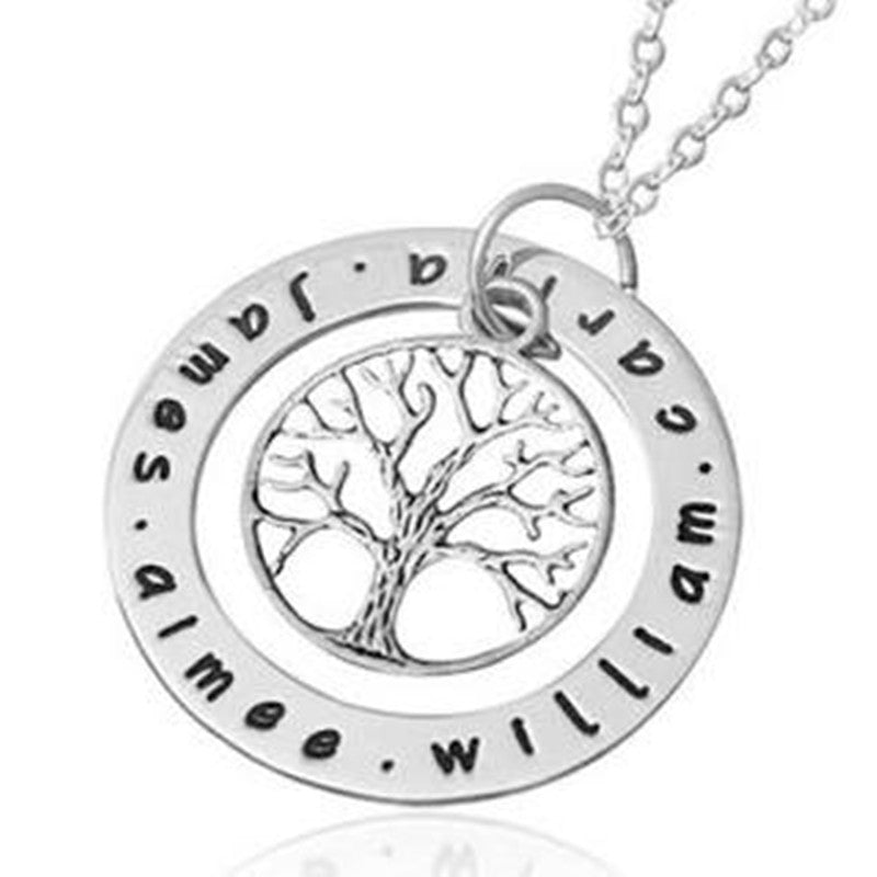 Personalised Family Tree Necklace - Luv2ShopNZ