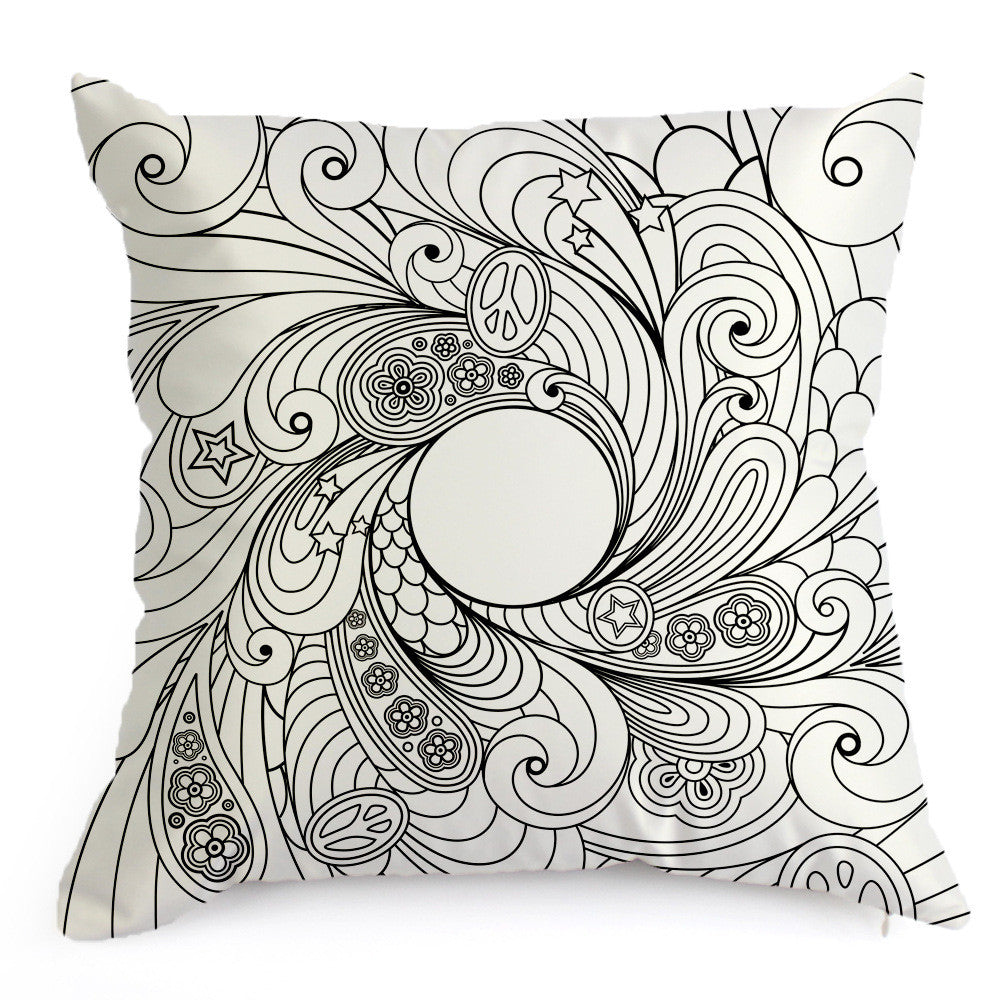 Cushion Cover to Colour in – Luv2ShopNZ